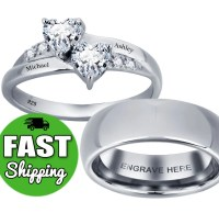 His and Her Promise Rings Matching Promise Rings by ...