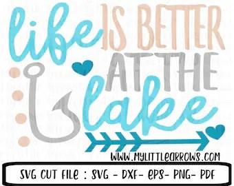 Download Lake life svg | Etsy