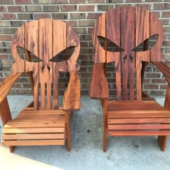 Skull Adirondack Chair Plans Recliner Chairs Gumtree Adelaide Punisher Awesome Skulls