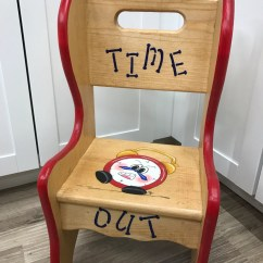 Kids Time Out Chair Desk Legs Seat Handmade