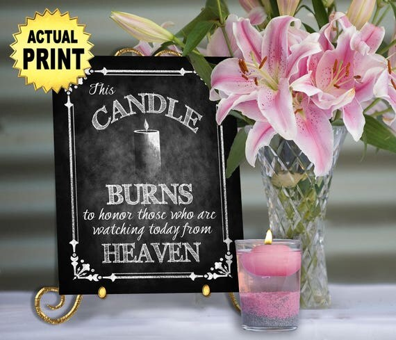 Download Wedding Memorial Candle watching from heaven Religious wedding