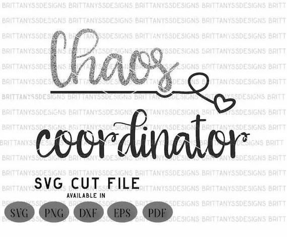 Download Chaos Coordinator svg / chaos svg / SVG cutting files/ Svg