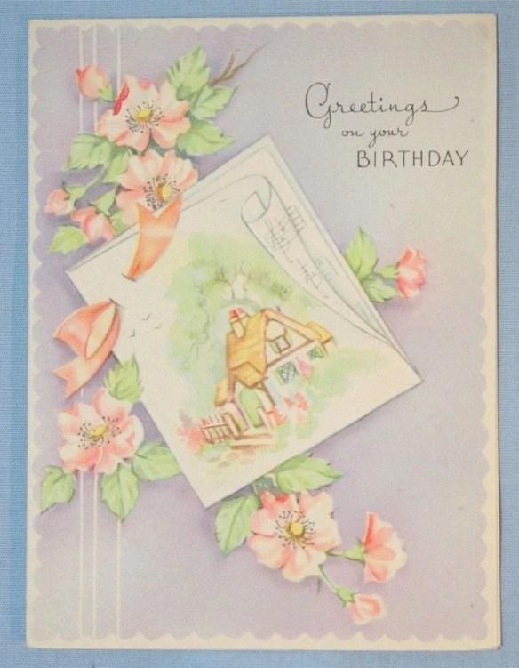 Vintage Happy Birthday Gr...