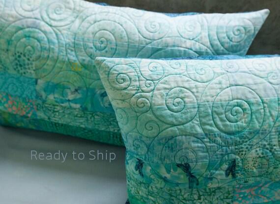 Turquoise Pillow Shams