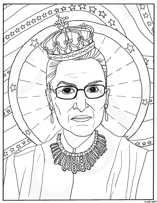Ruth Bader Ginsburg RBG Supreme Court Justice Feminist