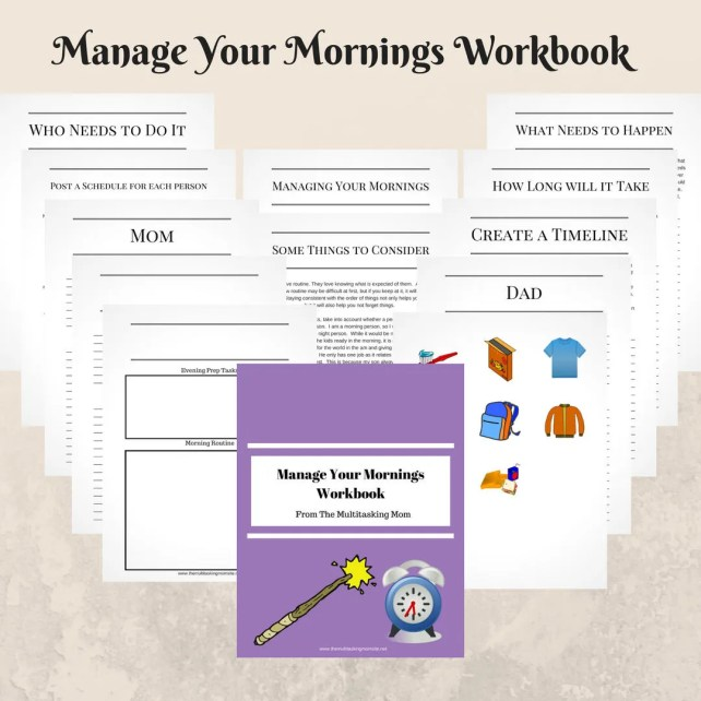 Manage Your Mornings Work...