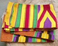 African Kente Woven ClothGhana Woven Kente ClothTraditional