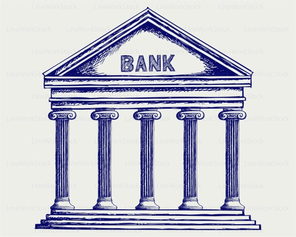 bank svg clipart