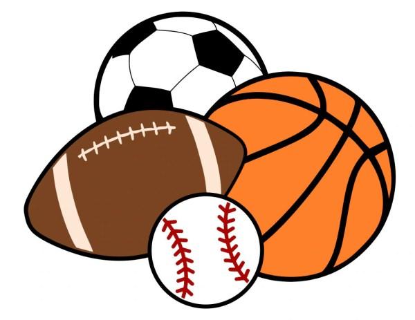 sports balls basketball soccer