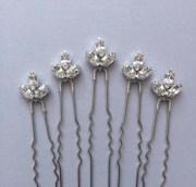 bridal hair pins bridesmaid