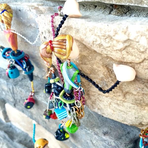 Rock Climbing Trad Magnet Ornament Custom