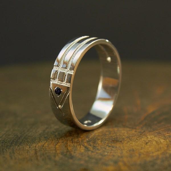 Sterling Silver Atlantis Ring Jewelry
