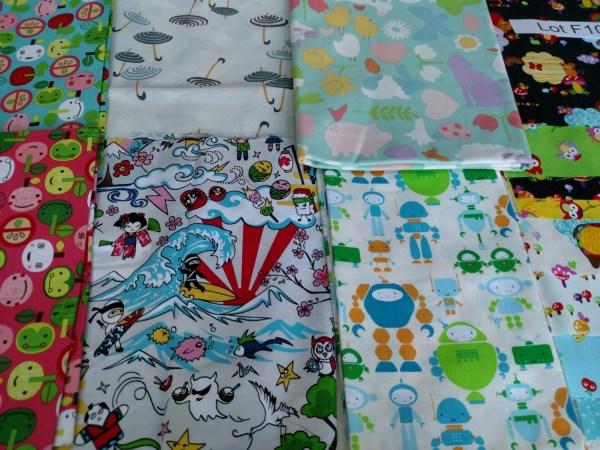 Girls Fabric Destash Lot F1038 2 . Kids