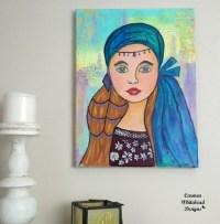 Teen wall art teen girl gift wall decor girls room decor