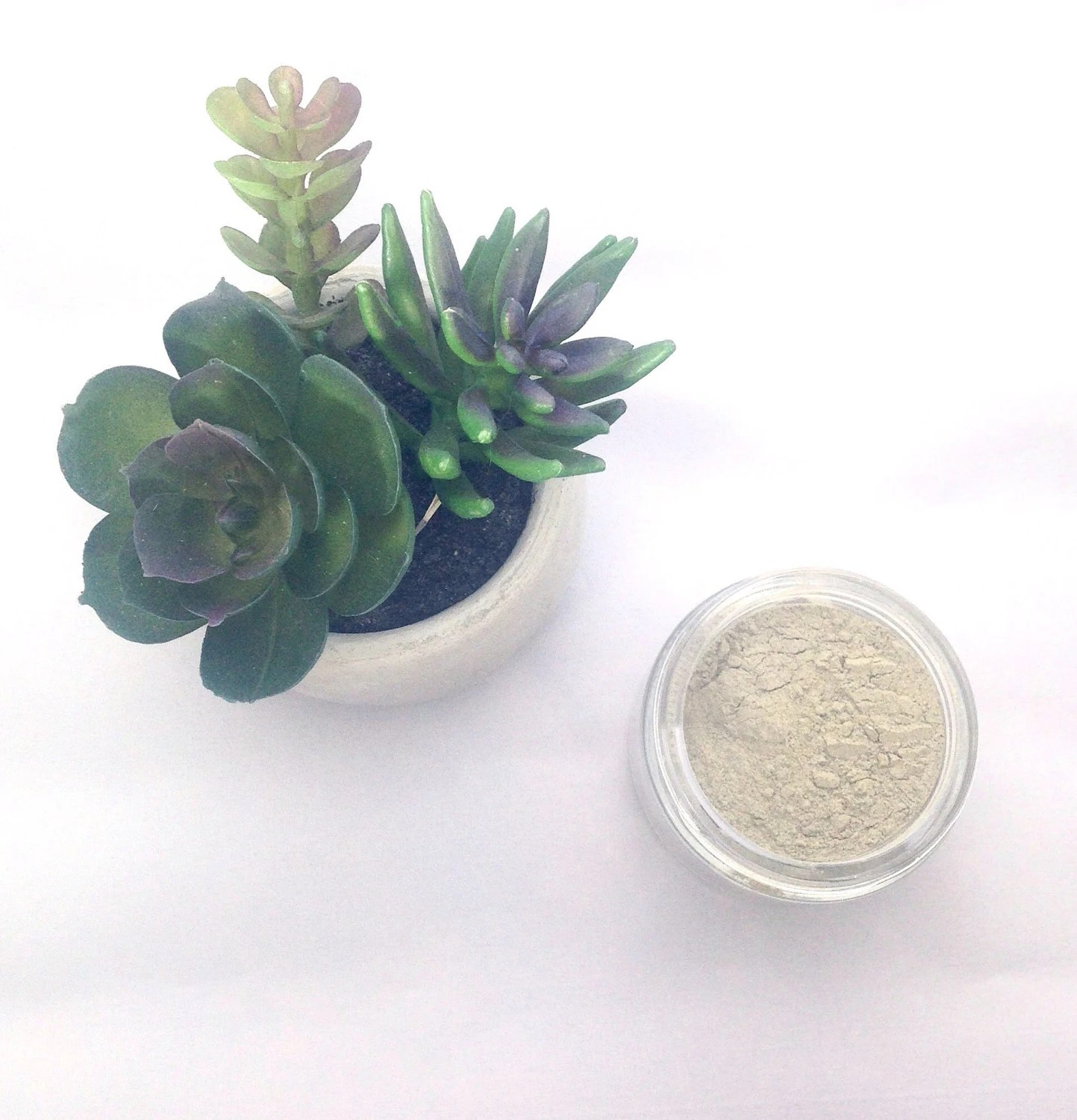 natural french green clay face mask by risingmoonessentials