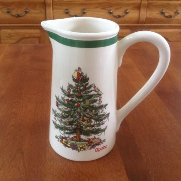 Spode Christmas Tree 24 Ounce Holiday Pitcher Jug