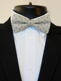 Grey Bow Tie Grey Bowtie Mens Bow Tie Mens Bowtie Gray Bow