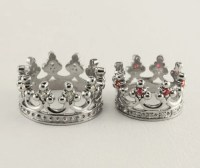 Crown engagement rings set Couple crown rings His and Hers