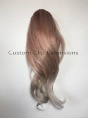 rose balayage hair extensions
