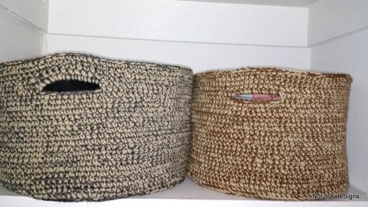 2-Yarn Basket/ Shelf Orga...