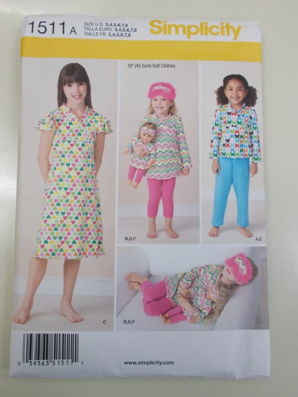 Matching Doll and Girl Pajamas American Girl Doll Pajamas