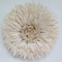 Authentic juju hat Wall decor feather headdress with