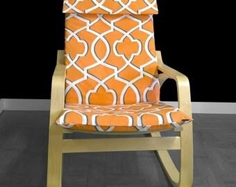 Rocking Chair Pads IKEA Slipcovers Par RockinCushions Sur Etsy