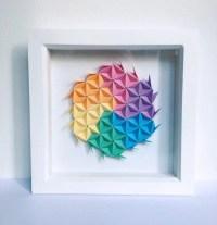 Origami Wall Art Modular Origami Art 3D Origami Wall Art 3D