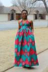 African Dress Dashiki Prom