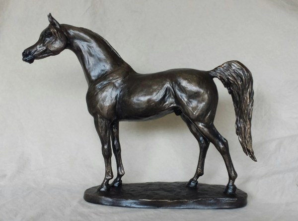 Arabian Horse Bronze Sculptures