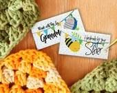 Custom Fabric Labels, Bee...
