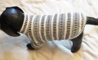 fancy striped sweater
