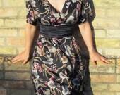 Vintage Silk Dress size 6...