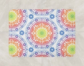 geometric bath mat foam bath rug modern bath mat black