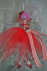 quiky fairy with candy floss pink