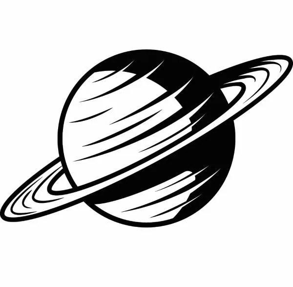 Planet #1 Saturn Solar System Astronaut Space Galaxy