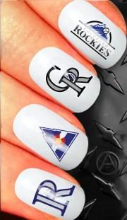 nail art decals national league