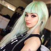 pastel mint green hair dye lunartideshair