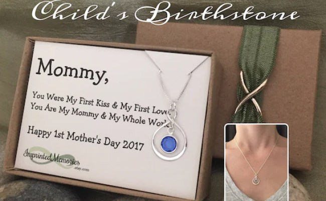 First Mother S Day Gift New Mom Necklace Mother S
