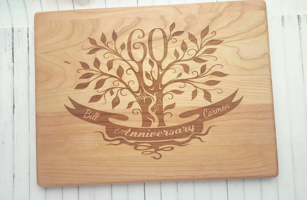 60th Anniversary Gift 60th Wedding Anniversary Gift For