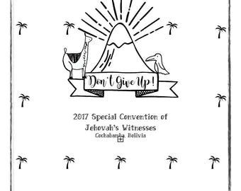 Don't Give Up Convention Notebook Hardcopy
