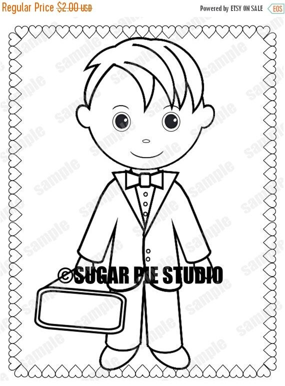 ON SALE INSTANT Download Printable Ring bearer by