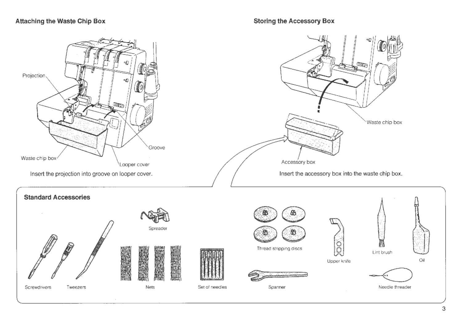 MyLock 434D Instruction, Service / Repair manual