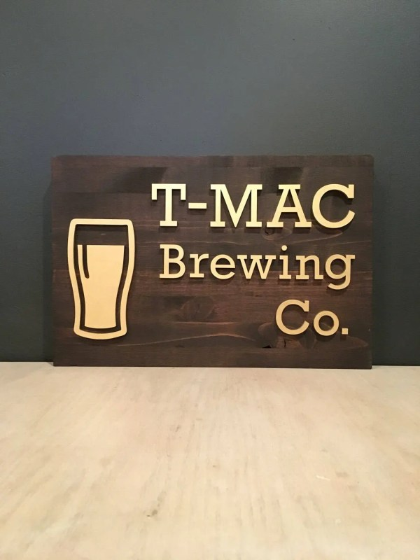 Customizable Brewery Brewing Sign