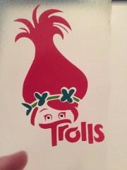 trolls decor poppy layered