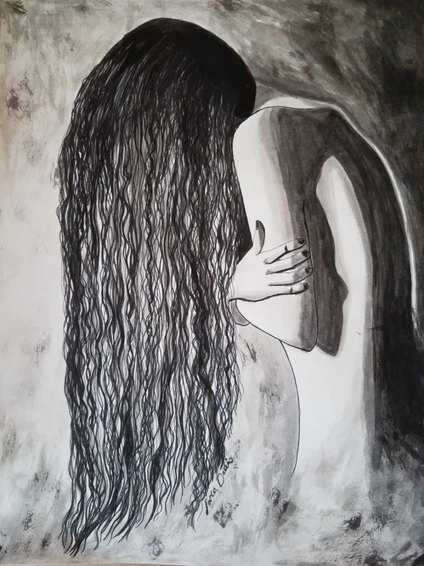 Emotional Dark Drawings Art