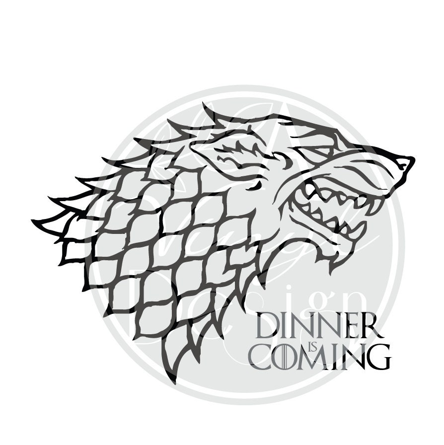 Game of Thrones Dinner is Coming Outline Version Jon
