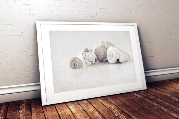 Nautical Bathroom Wall Art Black And White Print