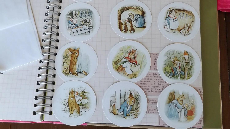 Peter Rabbit Stickers Peter Rabbit Label Beatrix Potter