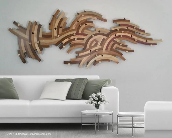 Of Kind Artwork Abstract Art Architectural Sculpture Wood Wall
